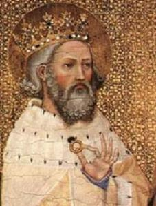 King Edward I of England, a.k.a. St. Edward the Confessor