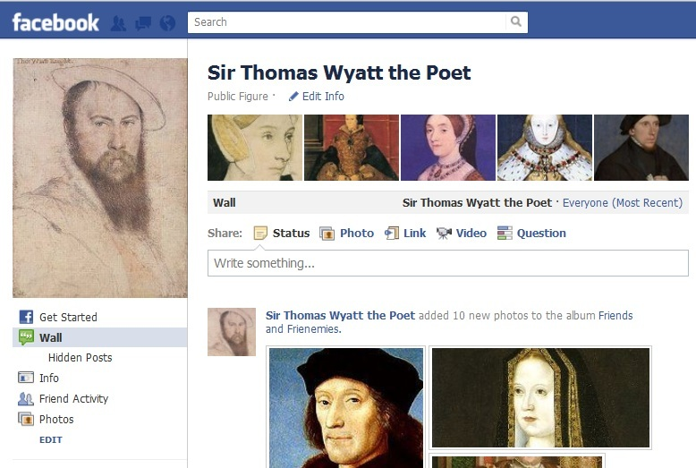 the court and sir thomas wyatt essay Download and read wyatt and petrarch italian fashion at the court of henry viii sir thomas critical essay wyatt and petrarch italian fashion at the court of.