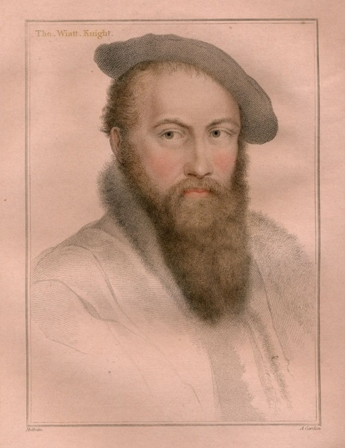 Sir Thomas Wyatt by Holbein