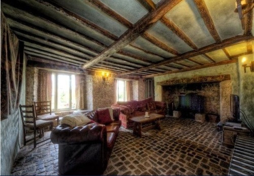 Restored medieval home