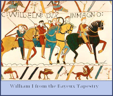 William the conqueror from Beayeux Tapestry
